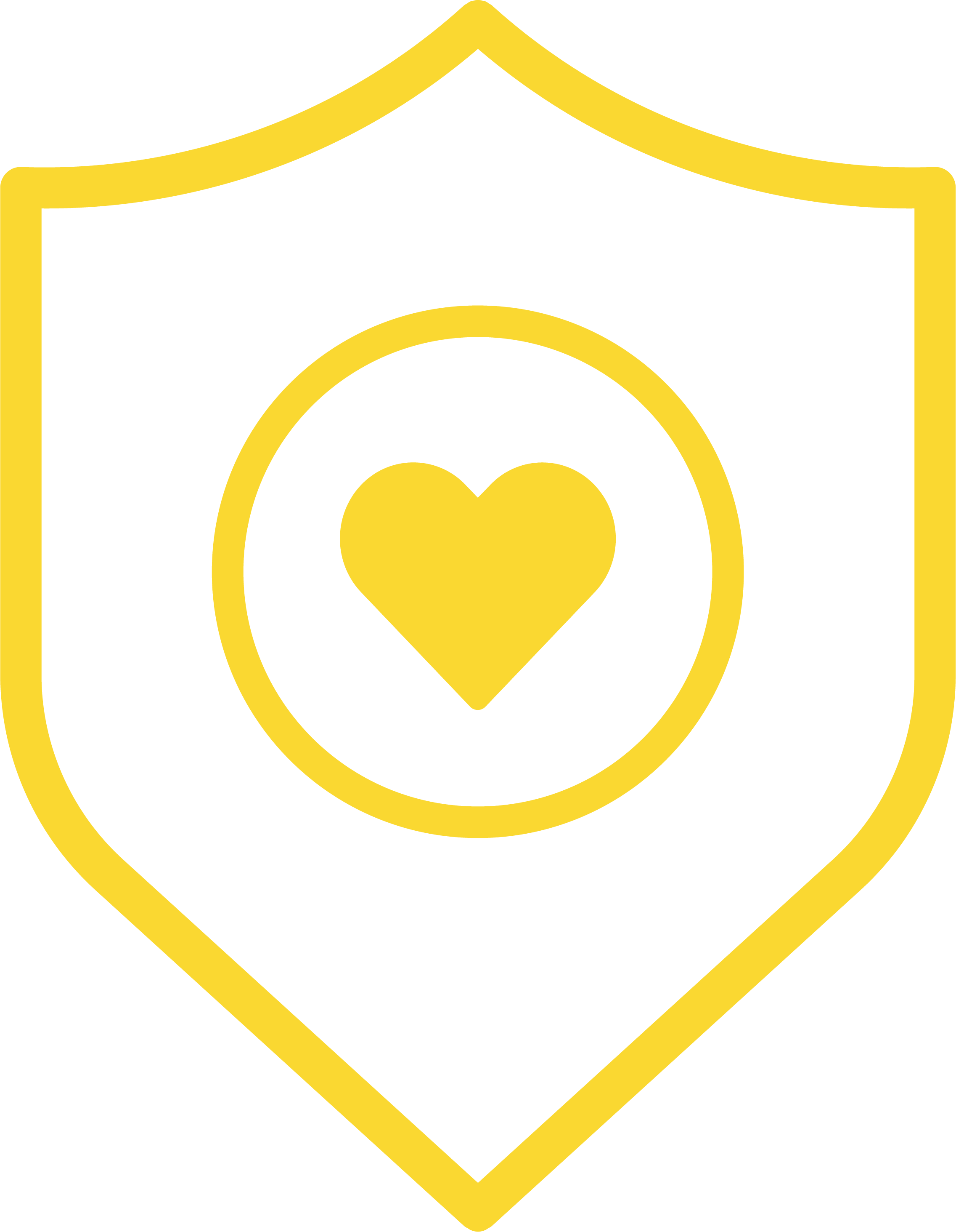 shield icon with a heart
