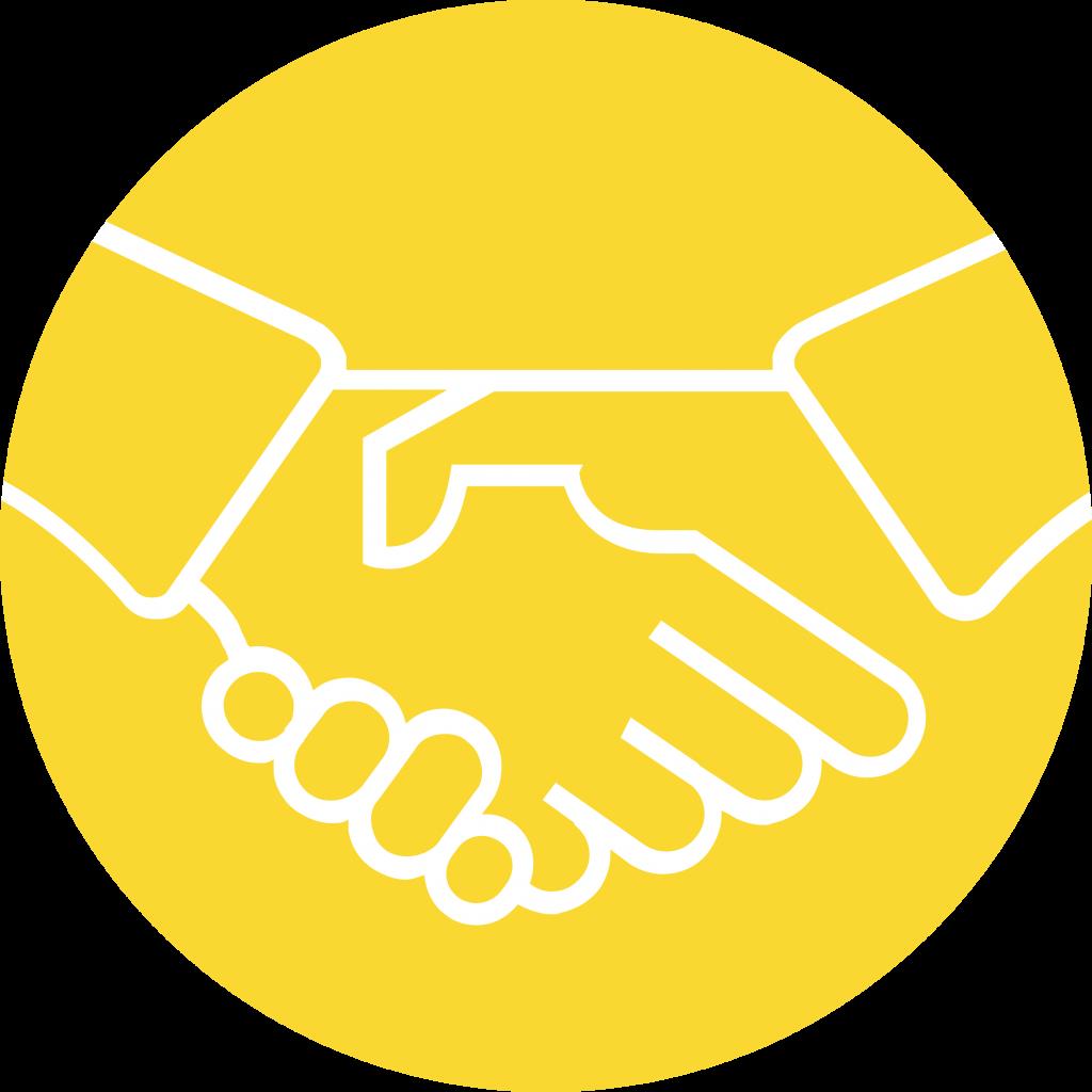 handshaking icon